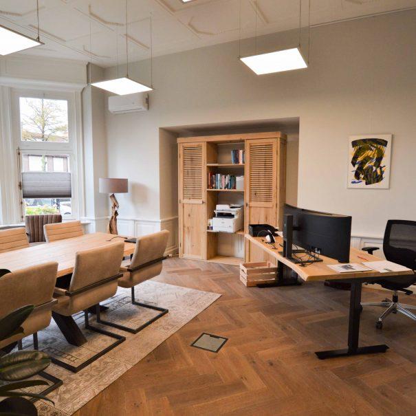 Kantoorvilla de Pastorie Vergaderruimte Kantoorruimte Huren Exclusief Bergen op Zoom Per Uur De Zaal