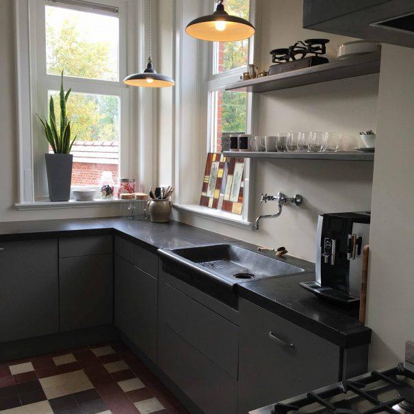 Kantoorvilla de Pastorie Vergaderruimte Kantoorruimte Huren Exclusief Bergen op Zoom Per Uur De Keuken